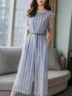 Set&Jumpsuits - Shop Affordable Designer Set&Jumpsuits for Women online Stylish Clothes For Women, Stylish Dresses, Elegant Dresses, Nice Dresses, Casual Dresses, Casual Outfits, Dress Outfits, Fashion Dresses, Everyday Dresses