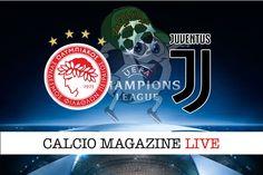 Olympiacos-Juventus cronaca diretta risultato in tempo reale