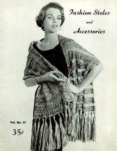 Fashion Stoles And Accessories Vol 17 Knit n Crochet PDF Digital