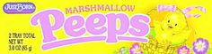 Peep Research...Use Marshmallow peeps to try some science research!