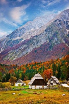 Fall scenery at Julian Alps, Slovenia Places Around The World, The Places Youll Go, Places To See, Around The Worlds, Albania, Saint Marin, Beautiful World, Beautiful Places, Beautiful Castles