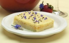 Lavender Bread Pudding