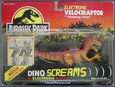 Kenner Jurassic Park Series 1: Dino Screams Velocirator 1993