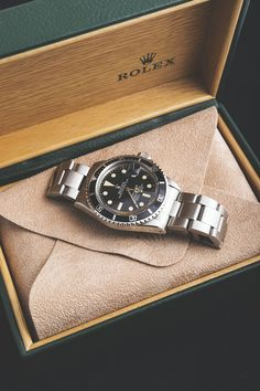 You can never go wrong when wearing a Rolex