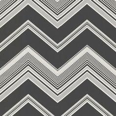 """Elements Bearden Zig Zag 33' x 20.5"""" Chevron Embossed Wallpaper   Wayfair"""