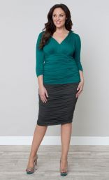 Riley Ruched Skirt-Sale