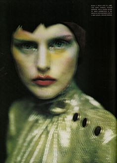 Stella Tennant by Paolo Roversi for Vogue Italia, September 1999.