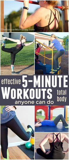 Think you're too busy to work out? Think again! These 5 minute exercises are incredibly effective and you can do them anywhere! 5 Minute Exercises You Can Do Anywhere When I talk to other moms, How To Stay Healthy, Healthy Moms, Healthy Bodies, Heath And Fitness, Post Workout Food, Intense Workout, Gym Workouts, Workout Tips, Burn Calories