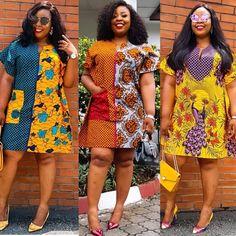 Latest African Print Designs Most Popular Designs for ladies Short African Dresses, Ankara Short Gown Styles, Trendy Ankara Styles, African Print Dresses, African Fashion Ankara, Latest African Fashion Dresses, African Print Fashion, African Traditional Dresses, African Attire