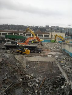 tear down the past for the future - former  Laundry cleaners - 2 years prior to use due to toxic waste