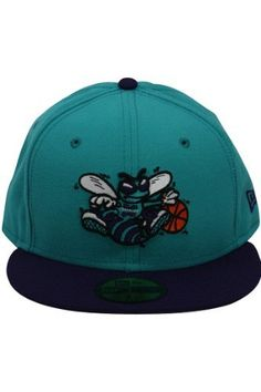 NBA Charlotte Hornets Nba Hardwood Classic 2 Tone 59Fifty by New Era.   23.80. acrylic 57be28f0540