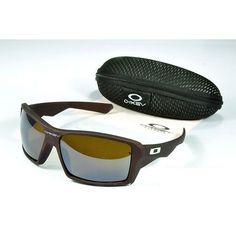 Oakley Men'S Sunglasses Khaki Lens Brown Frames-20668