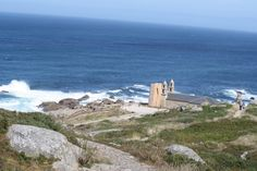 Muxia near Finisterre in Spain. The final location in the movie 'The Way'.