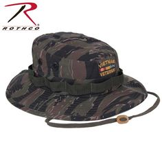 4c9fea1ce92 Vietnam Veteran Tiger Stripe Boonie Hat - ArmyNavyShop.com Military  Surplus