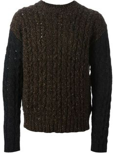 52df132c5d4 Shop Diesel cable knit sweater in Vitkac from the world s best independent  boutiques at farfetch.