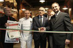 Inaugurazione pizzeria +39 all'aeroporto di Bologna