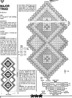 Ideas crochet doilies art table runners for 2019 Crochet Bookmark Pattern, Crochet Doily Diagram, Crochet Bookmarks, Crochet Doily Patterns, Filet Crochet, Crochet Doilies, Knitting Patterns, Diy Crafts Love, Diy Crafts Crochet