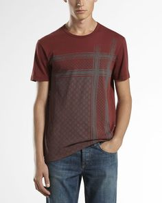 Gucci - Jersey Grid Tee