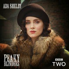Ada Shelby | Peaky Blinders Ada Peaky Blinders, Best Series, Tv Series, Birmingham, Peaky Blinders Characters, Peeky Blinders, Bbc, Peaky Blinders Wallpaper, Steven Knight