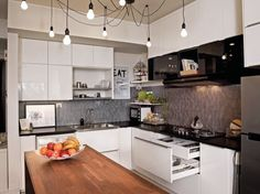 My Ikea Kitchen Remodel shallow base cabinets are perfect for a small ikea kitchen. | ikea