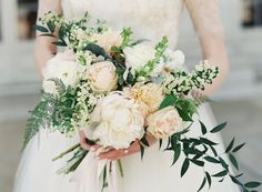 Photography: Vicki Grafton Photography - vickigraftonphotography.com Floral Design: Floral And Bloom - floralandbloom.com   Read More on SMP: http://www.stylemepretty.com/2016/01/05/classic-washington-dc-ballroom-wedding/