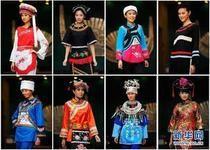 Different ethnic minority costumes