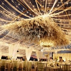 Hanging Wedding Decor: 20 amazing ideas to make a statement from floor to ceiling…