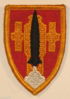 US Army Artillery & Missile School Insignia Unit DUI Patch Full Color Ft Sill OK