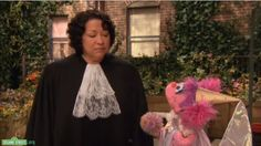 'Sotomayor tells Sesame Street: 'Pretending to be a princess is fun, but it is definitely not a career'