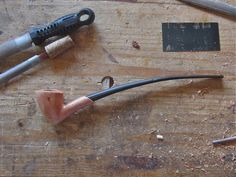 When I made my first tobacco pipe a year ago, I searched the Internet for information on making pipes primarily with hand tools. Alas, all I could find were sites on making pipes on metal lathes a...