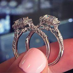 Verragio engagement ring wedding set