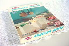 Kordite Freezer Boxes  Vintage 1950s  Set of 20 by CraZyDreamZ, $30.00