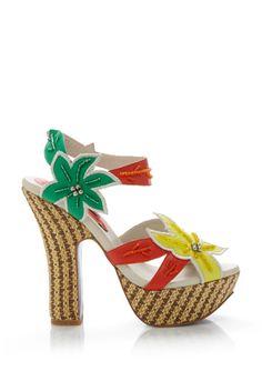 MOJO MOXY Soleil These make me want to dress up like Carmen Miranda!