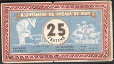 Spain - 1936. - GC - billetes - premia