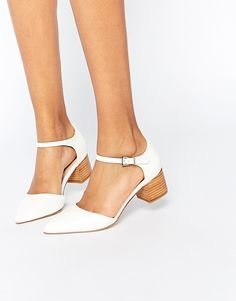 $70 vegan leather moderately comfy  Image 1 of ASOS OBSERVER Pointed Heels