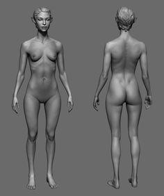 ArtStation - Elf, Iris Yurtsev