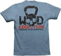 www.wodaddiction.com crossfit apparel for men and women