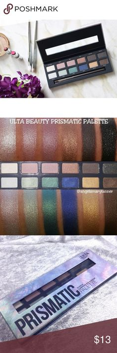 Ulta Beauty Prismatic Eyeshadow Palette Brand new. Save the most with bundles. I offer 25% off on bundles of 2+ items. I accept reasonable offers. No trades. I only do business on Poshmark. Ulta Makeup Eyeshadow