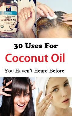 No other oil has so many health benefits like Coconut Oil, and it's not just that-- using it can make you beautiful too. Here're the 30 COCONUT OIL USES you need to know!