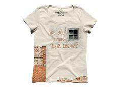 YOUR DREAM - Tişört by KAFT. Kaliteli, yaratıcı ve farklı tişört tasarımı için tıkla, kendini özgürce ifade et.