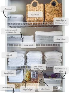 Small Bathroom Storage 215891375872522046 - Organized Bathroom Linen Closet Anyone Can Have – Kelley Nan- Elfa door system with medicine storage solution Source by playhousedreamplans Linen Closet Organization, Home Organisation, Organization Hacks, Organizing Bathroom Closet, Organizing Ideas, Organized Linen Closets, Cleaning Closet, Storage Hacks, Toiletry Organization