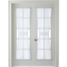 MarthaWindow™ Voile Rod-Pocket Door Panel found at @JCPenney