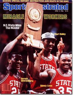 On This Day In Sports: April 4, 1983: Jim Valvano Coaches N.C. State to a National Championshipship
