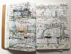 nexttoparchitects — #nextarch by @coupleofsketchbooks...