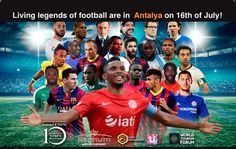 Messi, Neymar, dan Mourinho, Masuk Daftar Pertandingan Amal Eto'o