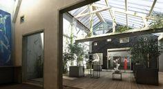 Réhabilitation d'une menuiserie en ateliers d'artistes, Soisy-sous-Montmorency, T Design Architecture - Realisation