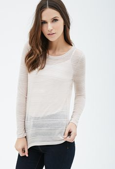 Shadow Stripe Top | Forever 21 - 2000100611