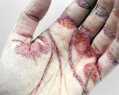 Image result for stains art embroidery