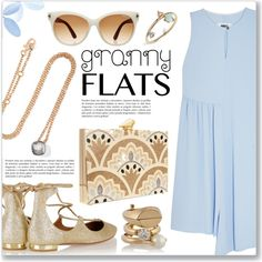 Cute Trend: Granny Flats by dressedbyrose on Polyvore featuring MM6 Maison Margiela, Aquazzura, KOTUR, Pomellato, Maison Margiela, WWAKE, Tom Ford, women's clothing, women's fashion and women