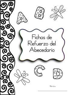 "Cover of ""Cartilla abecedario"" Teaching Spanish, Teaching Kids, Kids Learning, Abc Centers, Pre K Activities, School Items, Preschool At Home, Preschool Writing, Preschool Lessons"